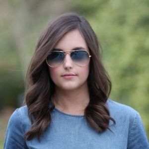BLUE AND SILVER RAY-BAN AVIATOR 100% AUTHENTIC